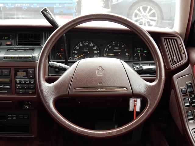 トヨタ クラウン ロイヤルサルーンG ベンコラ エアサス V8エンジン