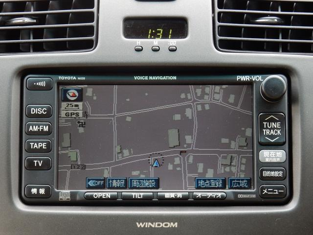 トヨタ ウィンダム 3.0G LTD-ED マルチナビTV サンルーフ 1オーナ