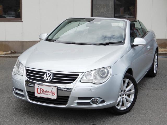 フォルクスワーゲン VW イオス V6 サンルーフ付き電動オープン 黒革シート