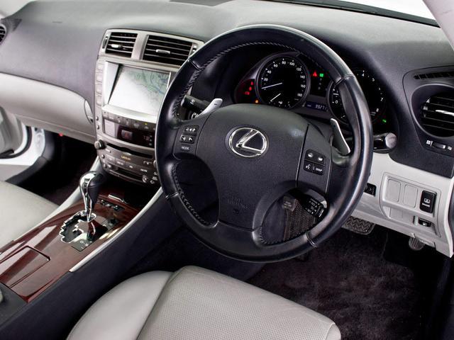 レクサス IS 250 VerL スピンドルLOOK 本革エアシート HDD