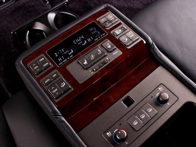 レクサス LS 600hL サンルーフ リアエンター マクレビ 黒革 HDD