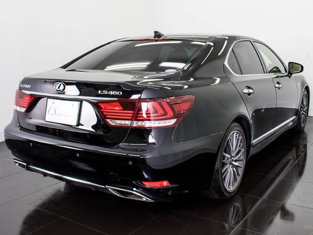 レクサス LS LS460 Fスポーツ メローホワイト革HDDマルチBSM