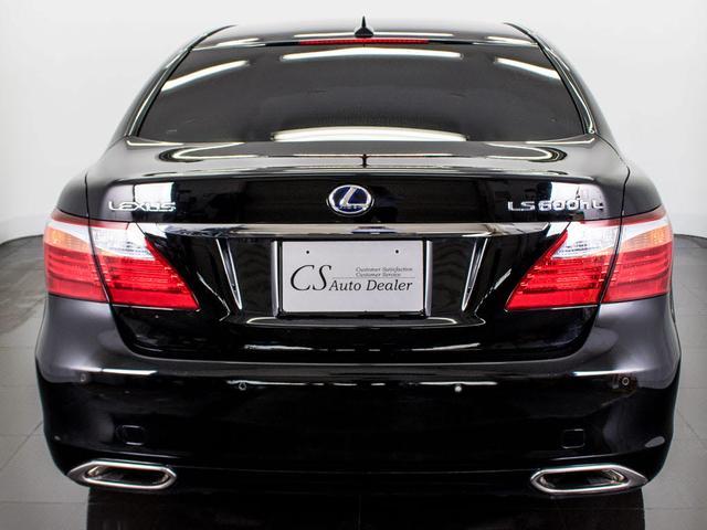 LS600hL 後席セパレート 黒革 Mレビ 新品タイヤ(7枚目)