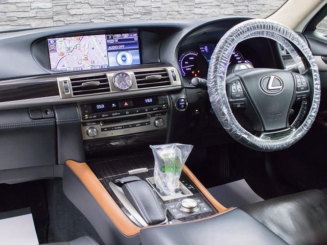 LS600hL エグゼクティブパッケージ 黒革 エアシート シートヒーター HDDマルチ マークレビンソン 地デジ DVD再生 Bluetooth 後席モニター レーダークルーズ 衝突軽減 LKA BSM パワートランク Cソナー ETC(9枚目)