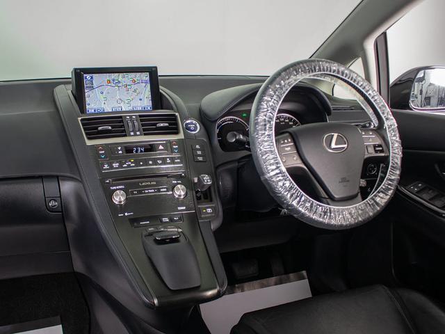 HS250h バージョンC 後期型 ワンオーナー サンルーフ 黒革 エアシート シートヒーター HDDマルチ 地デジ DVD再生 クリアランスソナー LEDヘッドライト LEDフォグランプ クルーズコントロール 記録簿9枚(13枚目)