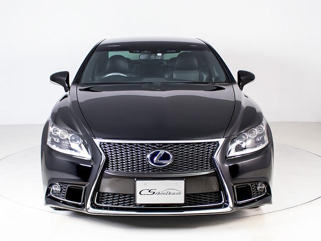 LS600h Fスポーツ 黒本革シート・アルミ・LEDライト・ワンオーナー・プリクラッシュ・ETC・バックモニター・スマートキー・CD・BSM・エアシート・シートヒーター・4WD・レーンキープ・パワートランク(5枚目)