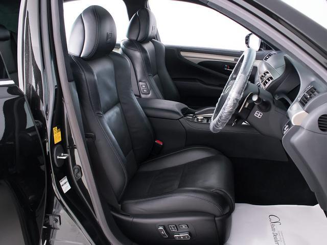 LS460 Fスポーツ サンルーフ 禁煙 フルエアロ パワートランク 黒本革シート 19インチ専用アルミ クリアランスソナー HDDワイドマルチナビ エアシート シートヒーター 電動シート シートメモリー(16枚目)