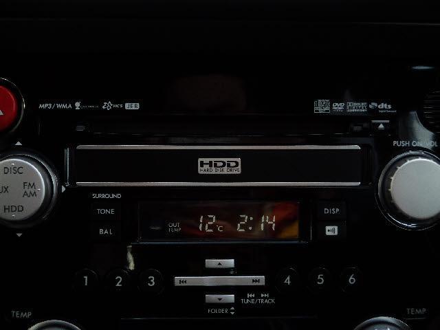 スバル アウトバック 2.5XTアイサイトタ-ボ純正HDDナビBカメラDVD再生