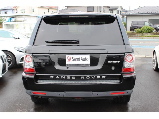 ランドローバー レンジローバースポーツ 5.0 V8 保証1年 サンルーフ 禁煙車 ディーラー車