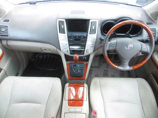 トヨタ ハリアー 350G プレミアムLパッケージ 純正HDDナビ JBL