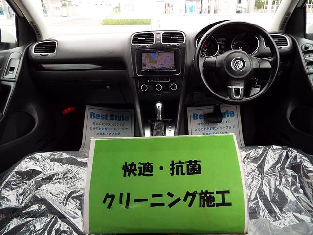 フォルクスワーゲン VW ゴルフ TSIトレンドラインブルーM ナビ 1オナ 2012モデル