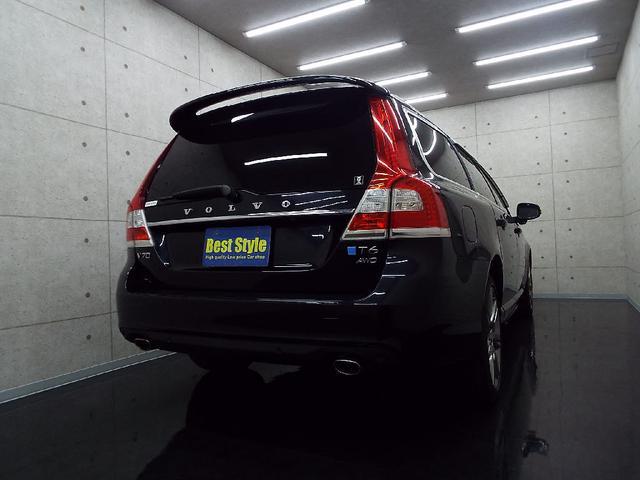 ボルボ ボルボ V70 T6AWDポールスターP 黒革 ナビ サンR 2014モデル