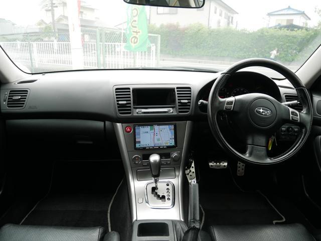 スバル レガシィツーリングワゴン 2.0GT 禁煙 ステアシフト 純正エアロ 一年保証
