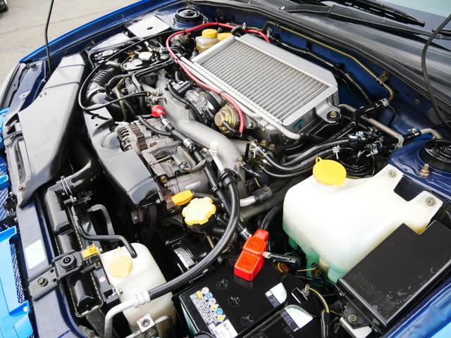 20K 1年保証付 5速MT EJ20ターボ タイベル済 純正エアロ STiゲノムマフラー ブースト計 電動格納ミラー ETC オートエアコン STiペダル サイドバイザー プライバシーガラス KEYレス(79枚目)