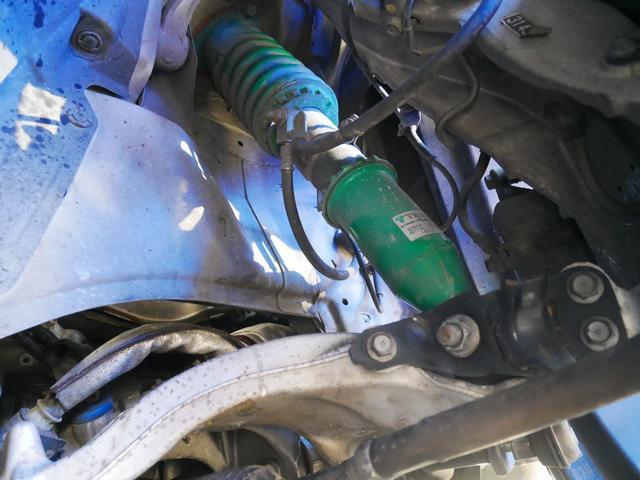 370GT 1年保証付 車高調 RAYS21AW インパルバンパー ハーフレザー HDDナビ 地デジ Bluetooth対応 サイドカメラ バックカメラ オートライト キセノン プッシュスタート オットマン(18枚目)