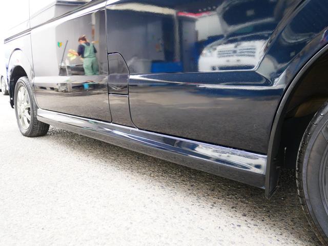 PZターボ 1年保証付 後期型 左側パワースライドドア 純正エアロ 13インチアルミ フォグ タイミングチェーン プライバシーガラス サイドバイザー 社外CD ETC ABS Wエアバッグ(29枚目)