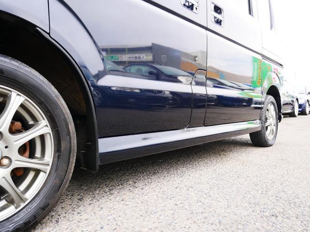 PZターボ 1年保証付 後期型 左側パワースライドドア 純正エアロ 13インチアルミ フォグ タイミングチェーン プライバシーガラス サイドバイザー 社外CD ETC ABS Wエアバッグ(36枚目)