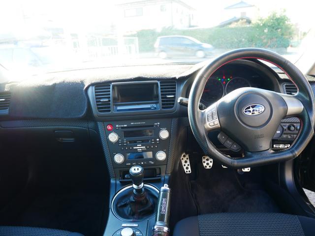2.0GTスペックB 1年保証 後期型 6速MT DAMDエアバッグ付ステア SI-DRIVE クイックシフト 社外18インチAW マフラー テールレンズ 電格ウィンカーミラー スマートキー プッシュスタート HIDライト(10枚目)