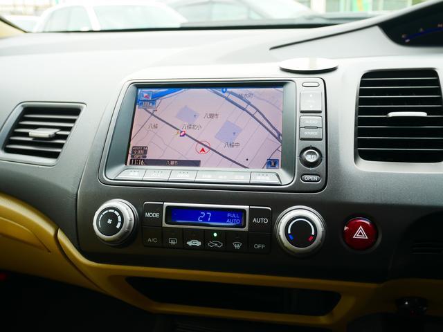 1.8GL 一年保証付 moduloエアロ 社外17インチアルミ HIDライト スマートキー 純正HDDナビ DVDビデオ フルセグ バックカメラ ミュージックサーバー ステアリングオーディオスイッチ ETC(11枚目)