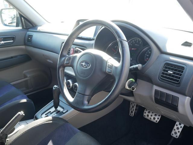 クロススポーツSエディション 後期型 STiリップスポイラー sti17インチアルミ エアロスプラッシュ 専用スポーツシート HIDヘッドライト MTモード付AT ステアシフト オートエアコン キーレス 電動格納ウィンカーミラー(52枚目)