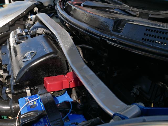 12SR 1年保証付 5速MT 後期型 純正エアロ 15インチアルミ 電動格納ミラー HDDナビ ワンセグ DVDビデオ バックカメラ オートエアコン キセノンライト キーレス プライバシーガラス タワーバー(18枚目)