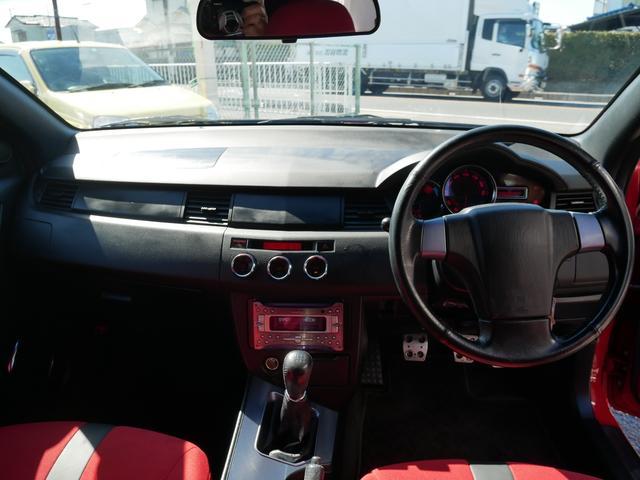 レッドスペシャル 1年保証付 6速MT 2ZZ-GE 純正エアロ 16インチアルミ 専用シート キーレス ETC ABS Wエアバッグ フォグ プライバシーガラス サイドバイザー AAC アルミペダル(10枚目)
