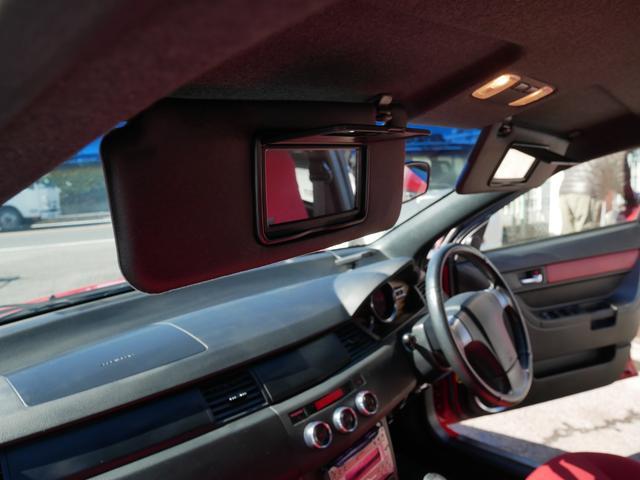 レッドスペシャル 1年保証付 6速MT 2ZZ-GE 純正エアロ 16インチアルミ 専用シート キーレス ETC ABS Wエアバッグ フォグ プライバシーガラス サイドバイザー AAC アルミペダル(15枚目)