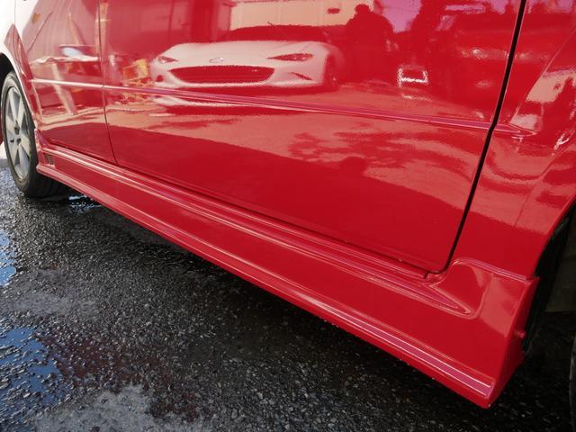 レッドスペシャル 1年保証付 6速MT 2ZZ-GE 純正エアロ 16インチアルミ 専用シート キーレス ETC ABS Wエアバッグ フォグ プライバシーガラス サイドバイザー AAC アルミペダル(37枚目)