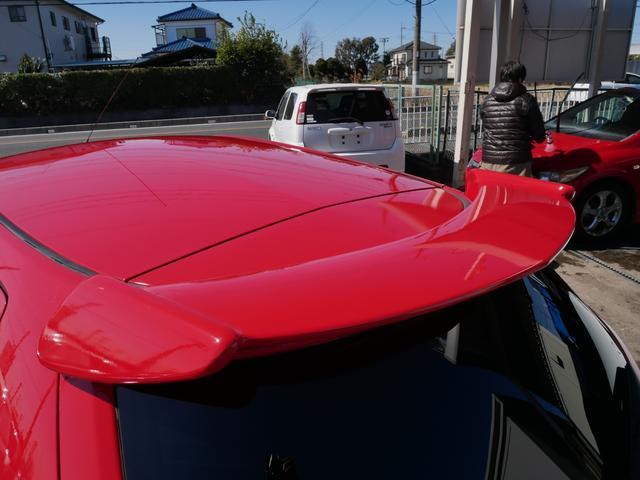 レッドスペシャル 1年保証付 6速MT 2ZZ-GE 純正エアロ 16インチアルミ 専用シート キーレス ETC ABS Wエアバッグ フォグ プライバシーガラス サイドバイザー AAC アルミペダル(46枚目)