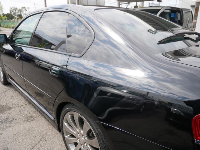 2.0GTスペックB 1年保証付 6速MT 後期型 SI-DRIVE 禁煙車 ブースト計 ステアスイッチ 6連奏CD ETC オートエアコン キーレス 電動格納ウィンカーミラー ローダウン HID フォグ 純正18AW(37枚目)