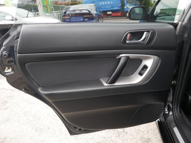 2.0GTスペックB 1年保証付 6速MT 後期型 SI-DRIVE 禁煙車 ブースト計 ステアスイッチ 6連奏CD ETC オートエアコン キーレス 電動格納ウィンカーミラー ローダウン HID フォグ 純正18AW(49枚目)