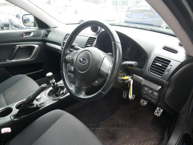 2.0GTスペックB 1年保証付 6速MT 後期型 SI-DRIVE 禁煙車 ブースト計 ステアスイッチ 6連奏CD ETC オートエアコン キーレス 電動格納ウィンカーミラー ローダウン HID フォグ 純正18AW(52枚目)