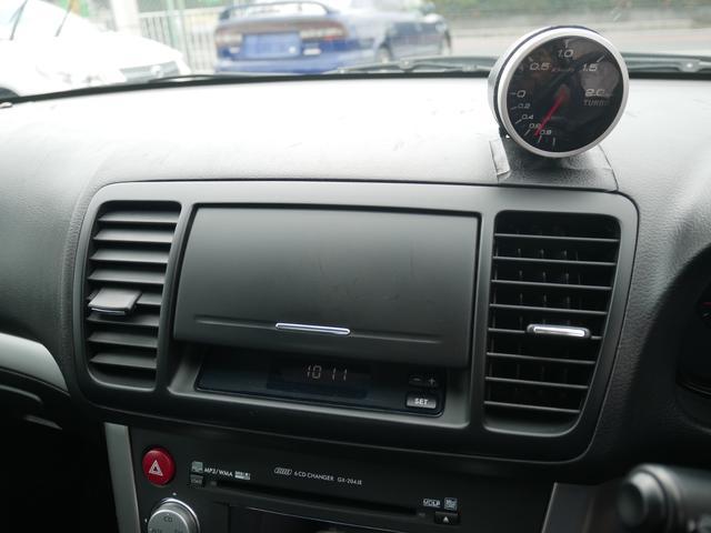 2.0GTスペックB 1年保証付 6速MT 後期型 SI-DRIVE 禁煙車 ブースト計 ステアスイッチ 6連奏CD ETC オートエアコン キーレス 電動格納ウィンカーミラー ローダウン HID フォグ 純正18AW(74枚目)