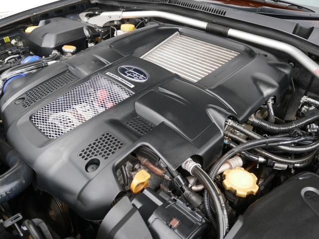 2.0GTスペックB 1年保証付 6速MT 後期型 SI-DRIVE 禁煙車 ブースト計 ステアスイッチ 6連奏CD ETC オートエアコン キーレス 電動格納ウィンカーミラー ローダウン HID フォグ 純正18AW(77枚目)