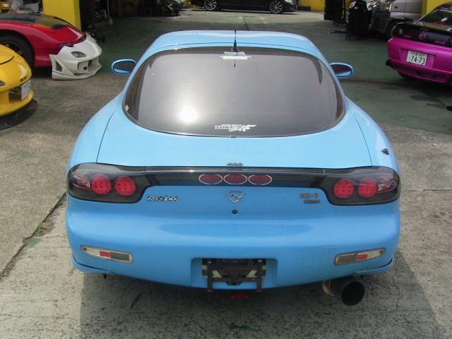 マツダ RX-7 タイプRBバサースト HKSマフラー TEIN車高調