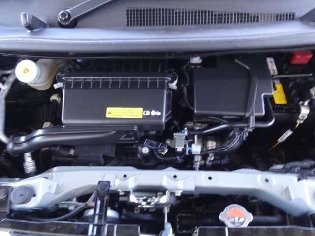 エンジンルームです!普段のメンテナンスはもちろん、定期点検や整備、車検まで全てお任せいただけますので、ご安心ください!