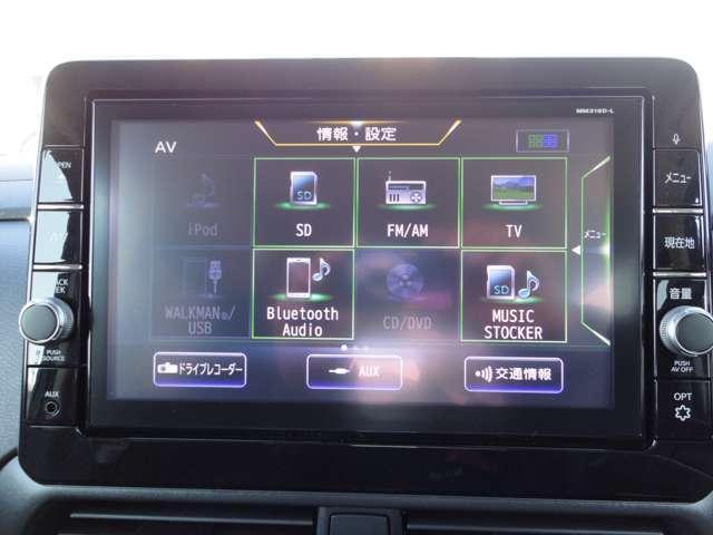 ドライブレコーダー画像になります。純正連動タイプとなりますので、カーナビゲーションで即座に見れます。