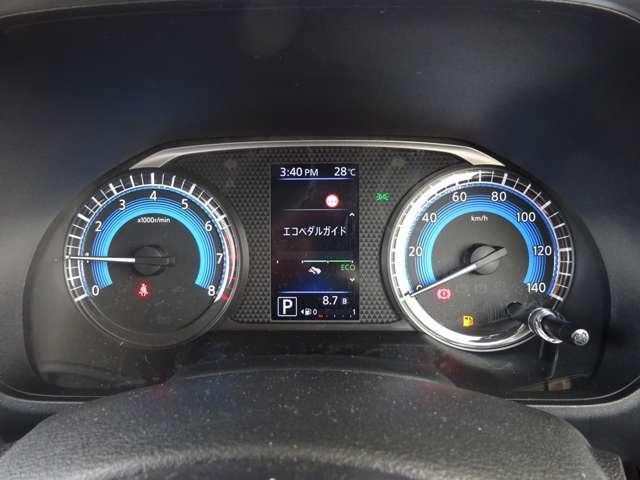 ハイウェイスター X 届出済未使用車・パナソニックメモリーナビゲーション・衝突被害軽減ブレーキ・アラウンドビューモニター(ミラー)・コーナーセンサー・片側オートスライドドア・LEDヘッドライト・アイドリングストップ(7枚目)