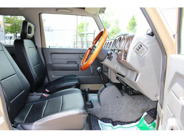 ランドベンチャー 4WD ターボ JA22最終2型 2インチリフトアップ足廻り マットブラック16インチAW GEOLANDAR.A/Tタイヤ サイドステップ カリフォルニアミラー 背面タイヤレス サンドベージュ色替車(76枚目)