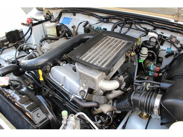 ランドベンチャー 4WD ターボ JA22最終2型 2インチリフトアップ足廻り マットブラック16インチAW GEOLANDAR.A/Tタイヤ サイドステップ カリフォルニアミラー 背面タイヤレス サンドベージュ色替車(80枚目)