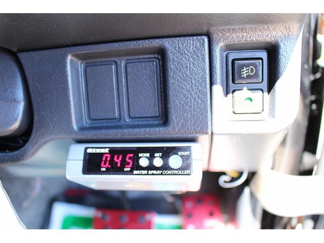 ランドベンチャー リフトアップ改 チッピング塗装オーバーフェンダー&フロントグリル 前後チューブバンパー 16インチブラックスチールホイール M/Tタイヤ レトロ調シートカバー プッシュスターター 天張り張替え済み(74枚目)