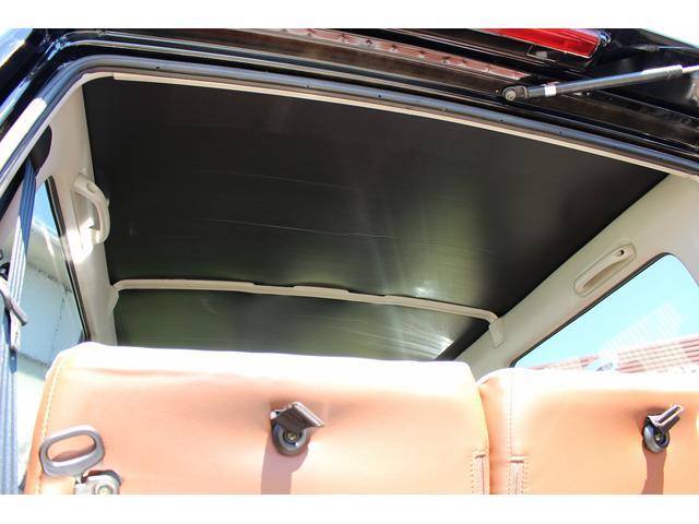ランドベンチャー リフトアップ改 チッピング塗装オーバーフェンダー&フロントグリル 前後チューブバンパー 16インチブラックスチールホイール M/Tタイヤ レトロ調シートカバー プッシュスターター 天張り張替え済み(79枚目)