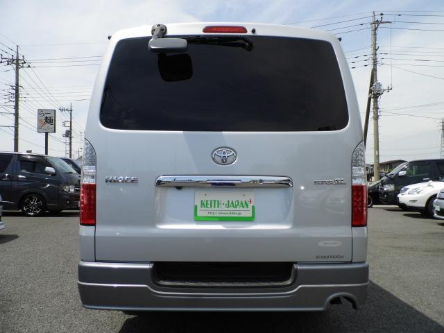 トヨタ ハイエースバン ロングスーパーGLディーゼルターボ ナビ 社外LEDテール