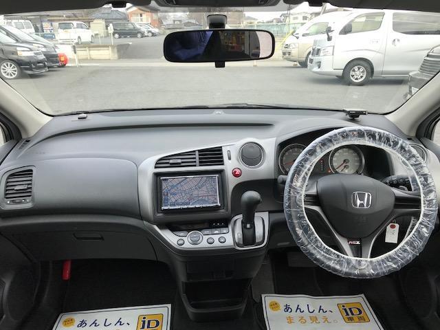 ホンダ ストリーム RSZ ストラーダHDDナビ フルセグ パドルシフト ETC