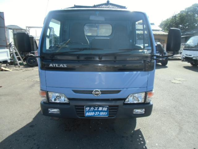 日産 アトラストラック 1,5t低床 ガソリン車