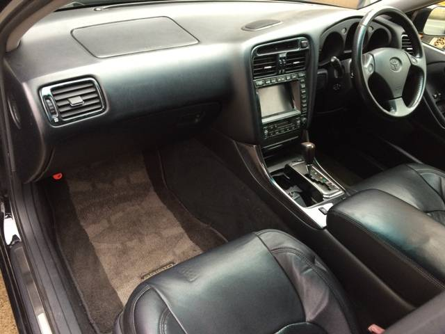 トヨタ アリスト V300ベルテックスエディション シートカバー 車高調