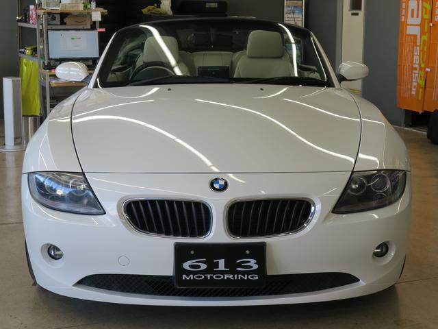 BMW BMW Z4 2.2i 電動オープン HDDナビ キーレス