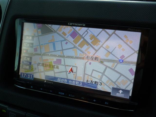S Wバージョン カロッツェリアHDDナビ フルセグTV(6枚目)