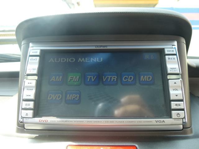☆ギャザーズDVDナビです☆現在ナビ機能が使えない為オーディオ機能のみになります☆DVD再生もできますよ☆
