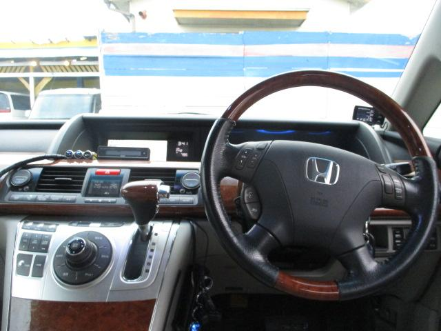 ホンダ エリシオンプレステージ SG HDD Bカメラ 両側電動 ETC 後席モニター